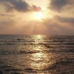 Sunset from Kefalos Beach