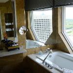 The famous view bath