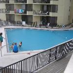 View of pool from our condo