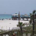 Pineapple Willy's pier from our condo