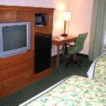 Room facing TV