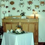 Crabs in the dining room