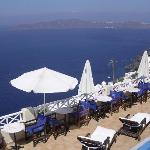 Lugar de desayunar en Villa Ilias