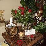 Roses and Wine in Kipling room