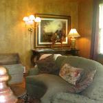 Stonewood Cottage sitting area
