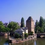 The river L'ill and Petite France