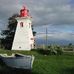 Der untere Leuchtturm in Victoria