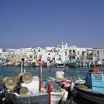 Naoussa harbour
