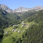Dolomite scene near Arabba