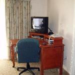 Desk/ TV in living room
