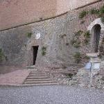 Back entry to Castle