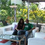 My Wife And I In The Quinta Da Casa Branca Reception