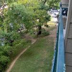 Look from balcony!