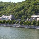 great setting on the river meuse