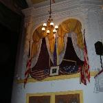 The booth where Lincoln was shot.