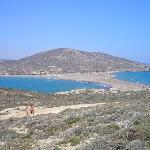 Prassonissi where the Aegean sea meets the Med