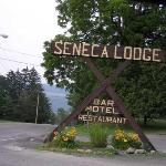 Entrance way to the Lodge