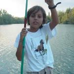 Fishing in Tuscany at  the Monaciano lake