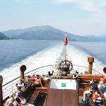 Looking aft to Loch Long