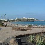 beautiful beach costa teguise