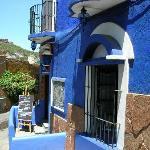 Entrance to the Casa Azul