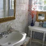 La Encantada's bathroom.