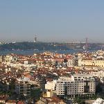 Another beautiful view of Lisbon from our room