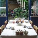 The breakfast table - heavenly