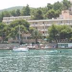 Hotel Cavtat from the bay