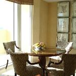 Dinning room overlooking the ocean