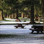 Campsites in Winter
