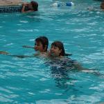 Family friendly pool