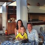 Muliigan Family in the A' La Carte-Lindos Mare