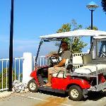 our little golf cart