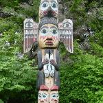 Totem at nearby park