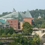Aquarium as seen from the bridge
