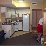 Living, Dining, Mini Kitchen