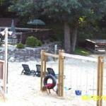 Beach View of play area