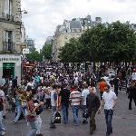 Les Halles on Saturday afternoon