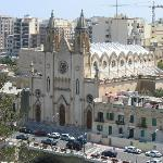 Our Lady of Mount Carmel Church-Balutta (viewed from our balcony)