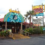 Sharky's, neat place to eat