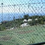 Tennis Court With View