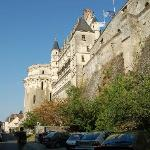 Amboise castle just outside the hotel