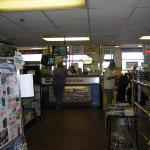 registration desk/cashier stand