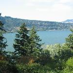 View of the Columbia River from the balcony