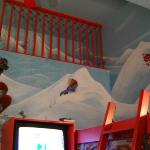 The Coca Cola Theme Room