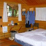 Interior of Camping Cabin