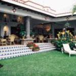 Courtyard, La Villa Hidalgo, Cuernavaca, Mexico