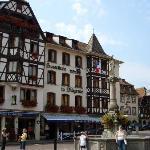 Obernai Central Sqaure & Hotel de la Diligence