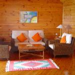 Sitting room of the honeymoon suite